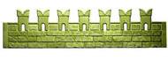 Заборная секция №8 Кремлевская стена