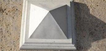 Накрывной элемент на столб 420х420 мм