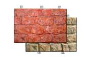 Фасадный камень скреплением под дюбель Английский большой