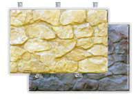Фасадный камень скреплением под дюбель Панель скол