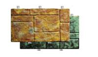 Фасадный камень скреплением под дюбель Известняк