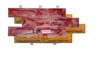 Фасадный камень скреплением под дюбель Вилка ростовский камень