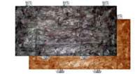 Фасадный камень скреплением под дюбель Панель №1