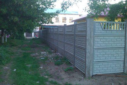 Установка бетонного забора в Нижнем Новгороде, в Канавинском районе